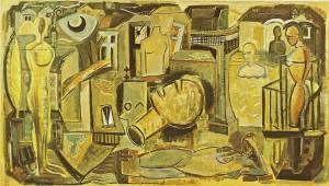 Öl/Leinwand, 1989/91, 159x280cm