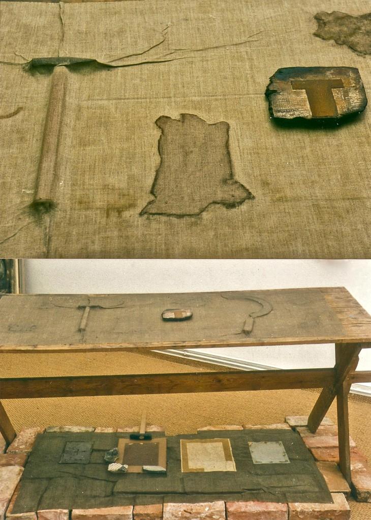Fotodetail, K.S. 1994WERKTEILE, Galerie Pohl,