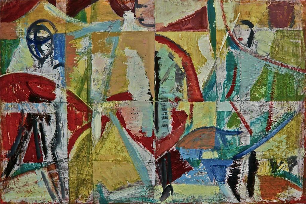 K.S., 2010, Öl auf Leinwand, 40x60 cm -La grande bellezza-