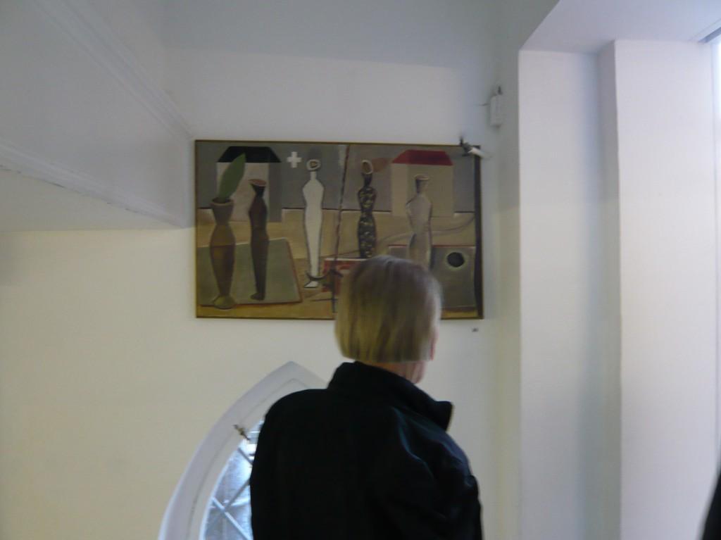 K.S., Ausstellungsbeitrag -80 für 80 im Kunsthaus von Achim Freyer- 2014