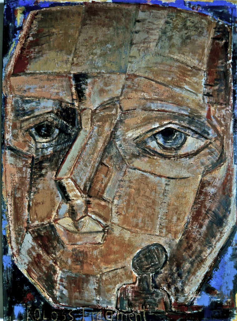 K.S., 2014, Öl auf Leinwand,110x80 cm