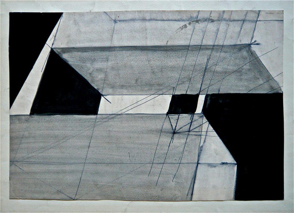K.S., etwa 70er Jahre -Komposition, horizonta-l